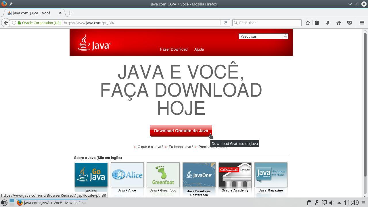 Como instalar o java da oracle no linux opensuse linux kamarada 1 download da mquina virtual java da oracle stopboris Images
