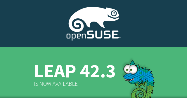 openSUSE Leap 42.3 is now available