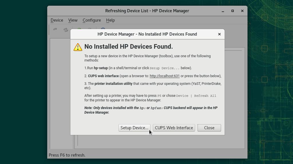 HP printers on openSUSE - Linux Kamarada