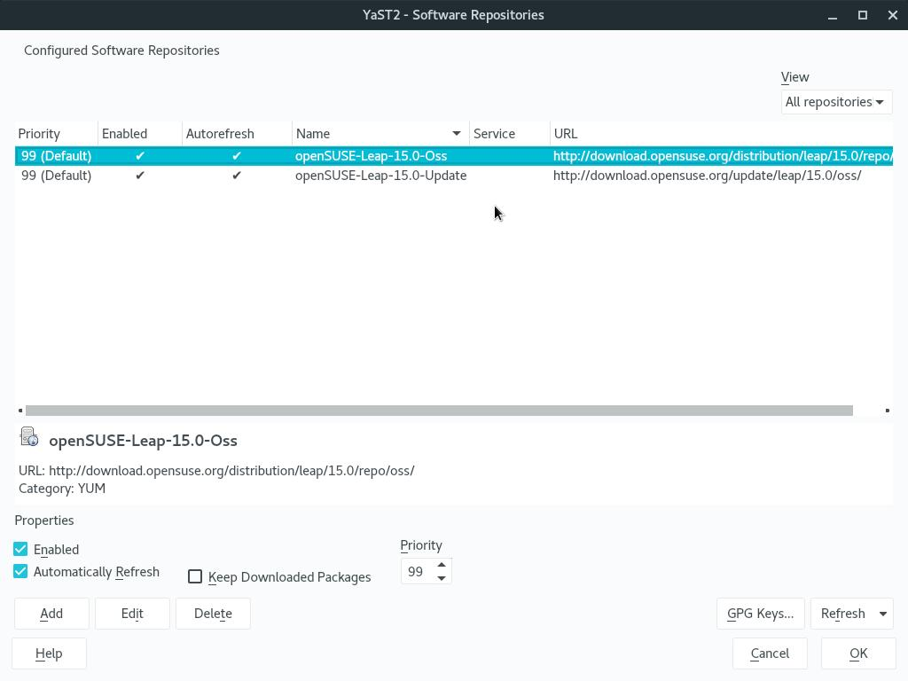 How to upgrade from openSUSE Leap 15 0 to 15 1 - Linux Kamarada